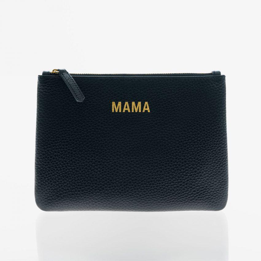 Jem+Bea Mama Clutch Black Front
