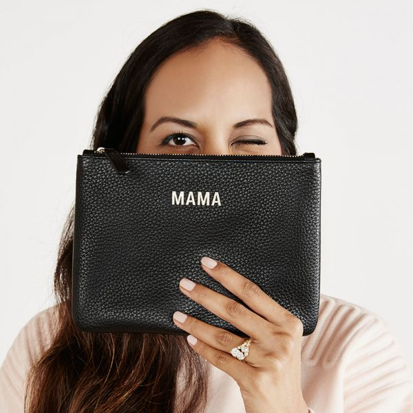 Jem+Bea Mama Clutch Black Lifestyle