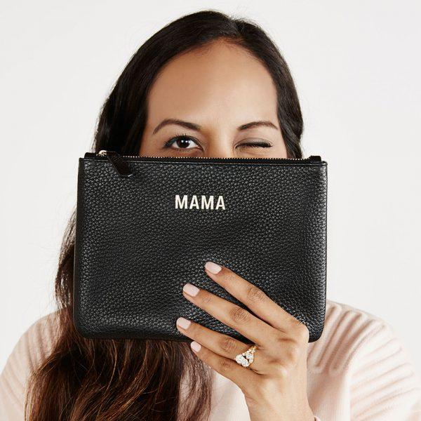 Jem+Bea Mama Clutch Black Lifestyle