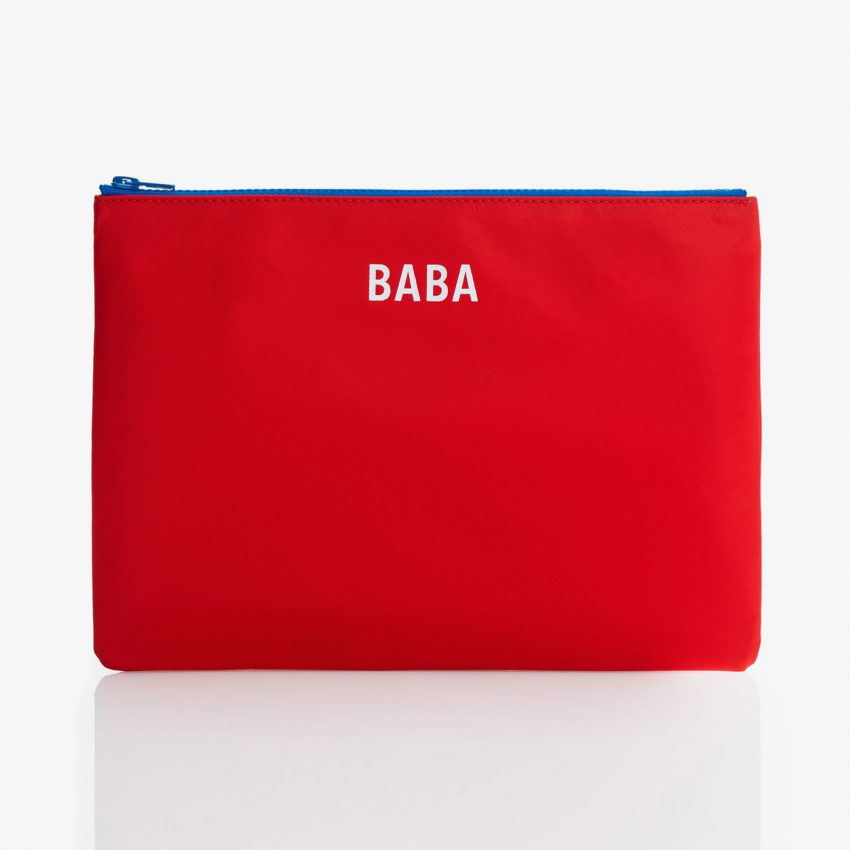 Jem+Bea Baba Pouch Red Front