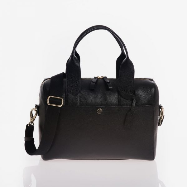 Jem+Bea Amber Black Bag