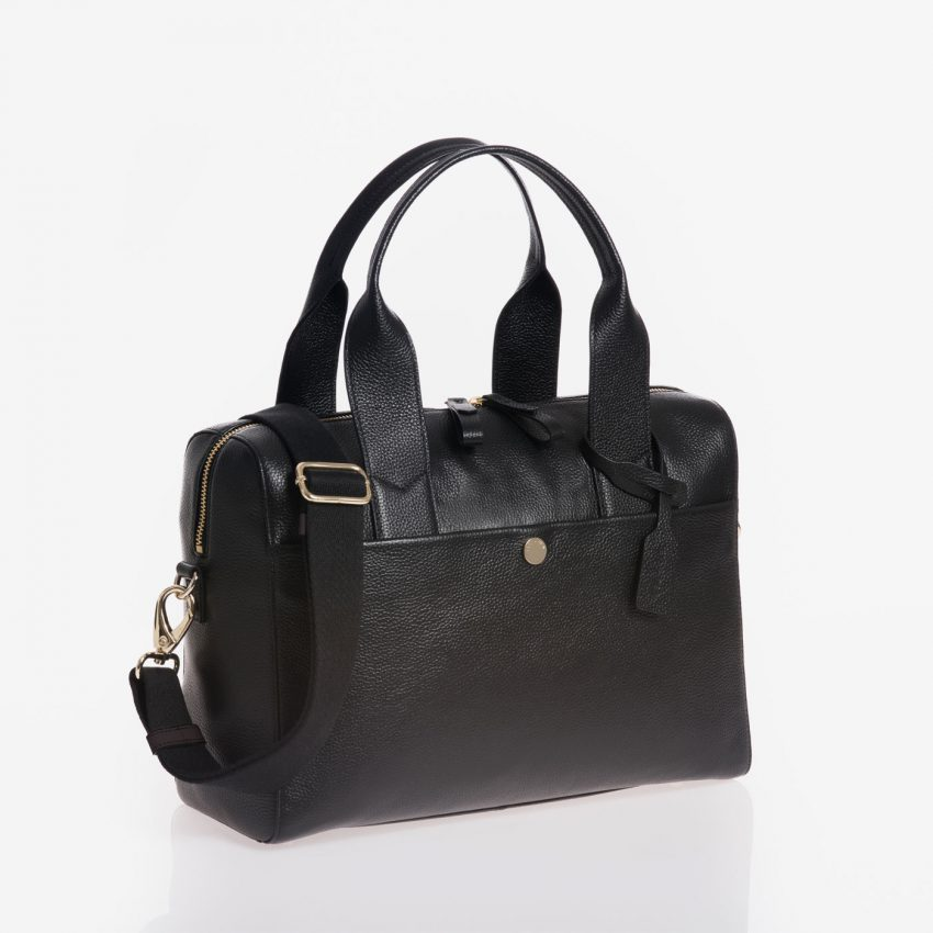 Jem+Bea Amber Black Bag