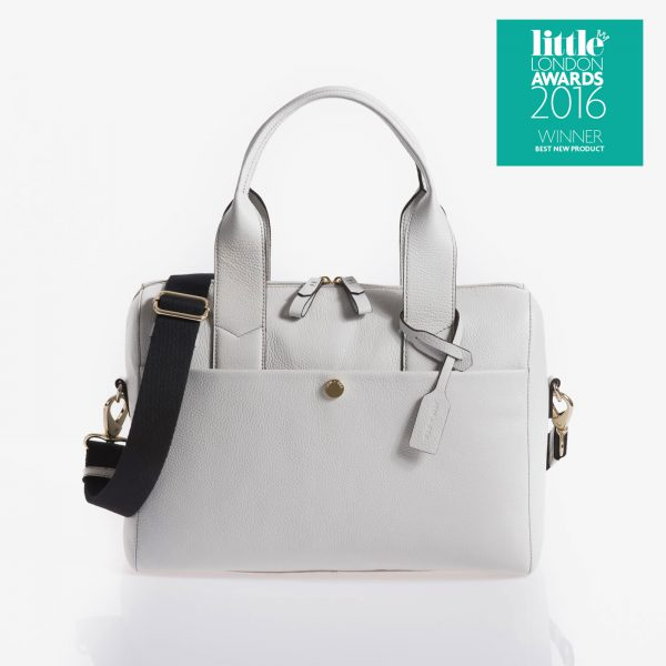 Jem+Bea Amber Grey White Bag