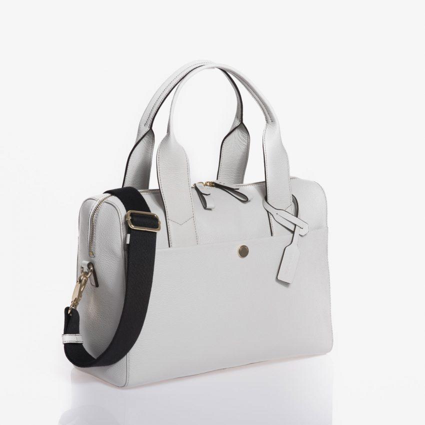Jem+Bea Amber Grey White Bag