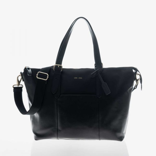 Jem+Bea Beatrice Black Bag