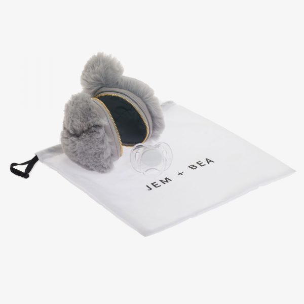Jem+Bea Dummy Bear Bag Grey