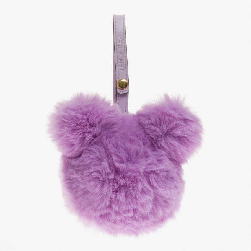 Jem+Bea Dummy Bear Bag Lilac