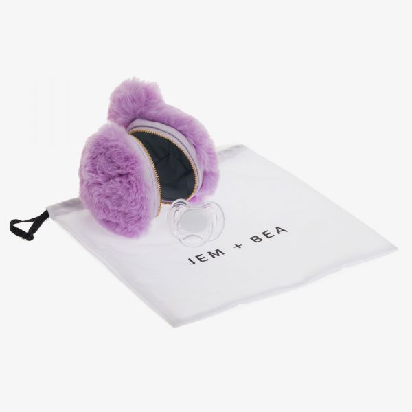 Jem+Bea Dummy Bear Bag Lilac