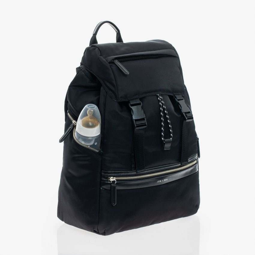 Jem+Bea Elliott Black Backpack