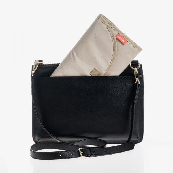 Jem+Bea Farah Black bag changing mat