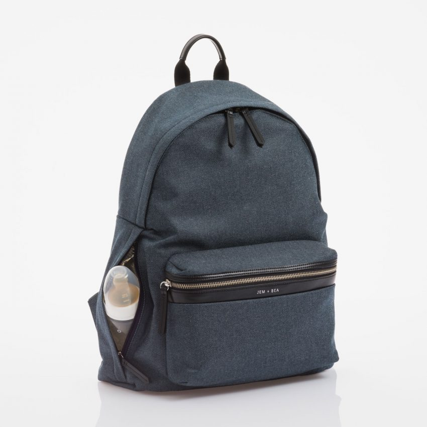 Jem+Bea Jamie Indigo Denim Backpack