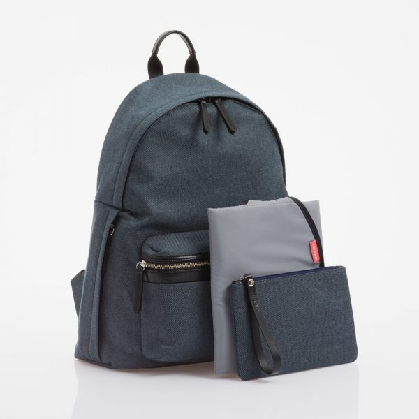Jem+Bea Jamie Indigo Denim Backpack
