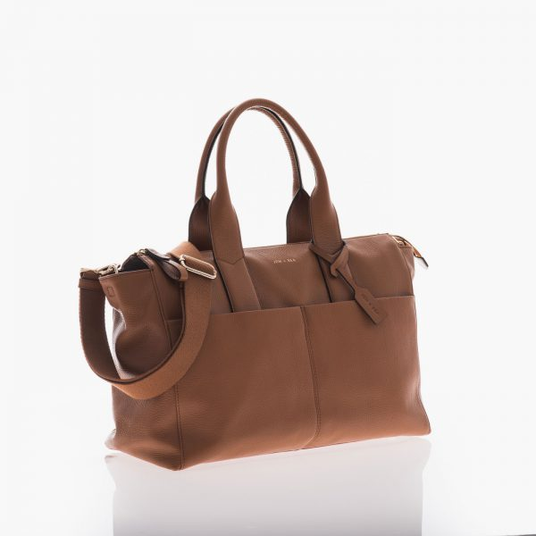 Jem+Bea Jemima Tan Leather Bag