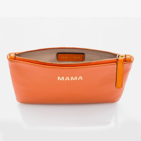 Jem+Bea MAMA Clutch Orange