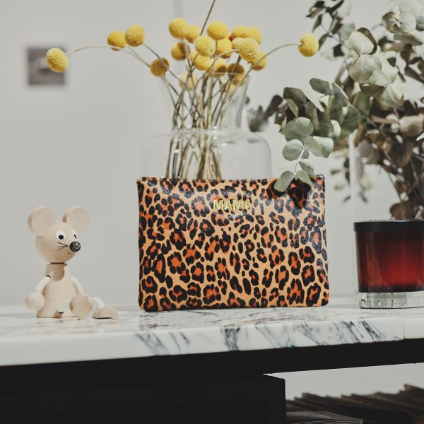 Jem+Bea MAMA Clutch Leopard