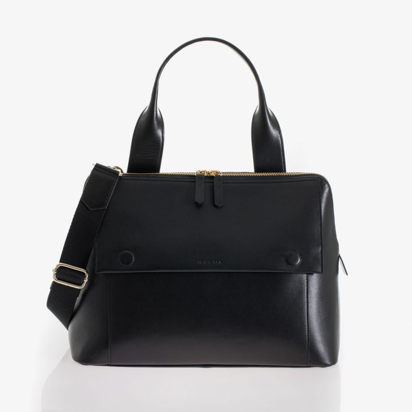 Jem+Bea Odille Leather Bag Front