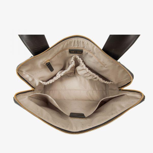 Jem+Bea Odille Leather Bag Inside
