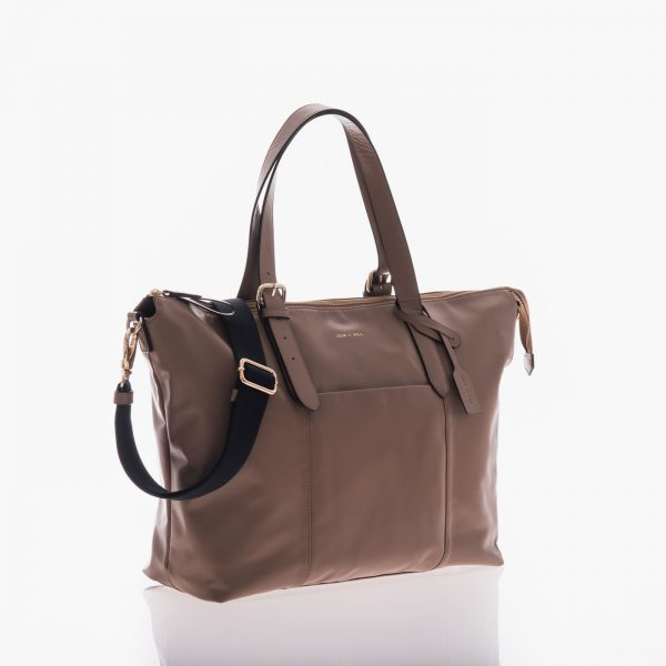 Jem+Bea Beatrice Taupe Bag