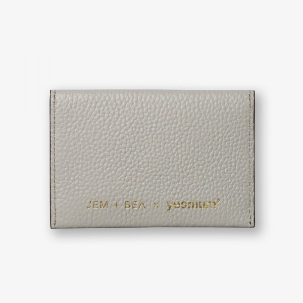 Jem + Bea x Yesmum Card Case Grey