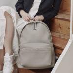Jamie Grey Leather