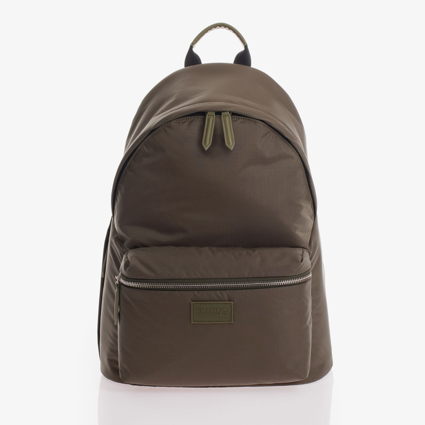 Khaki eco baby changing backpack